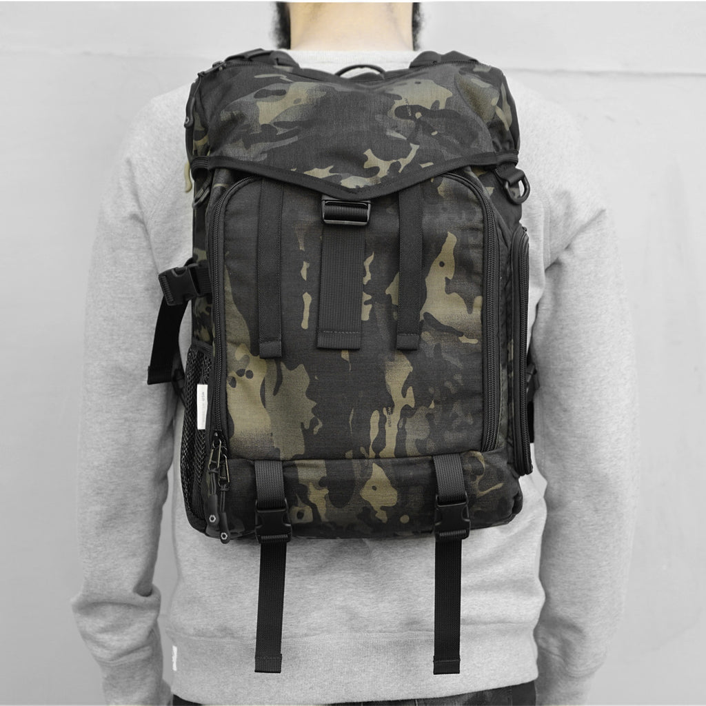 Camera Ruckpack - Black Multicam Cordura Nylon