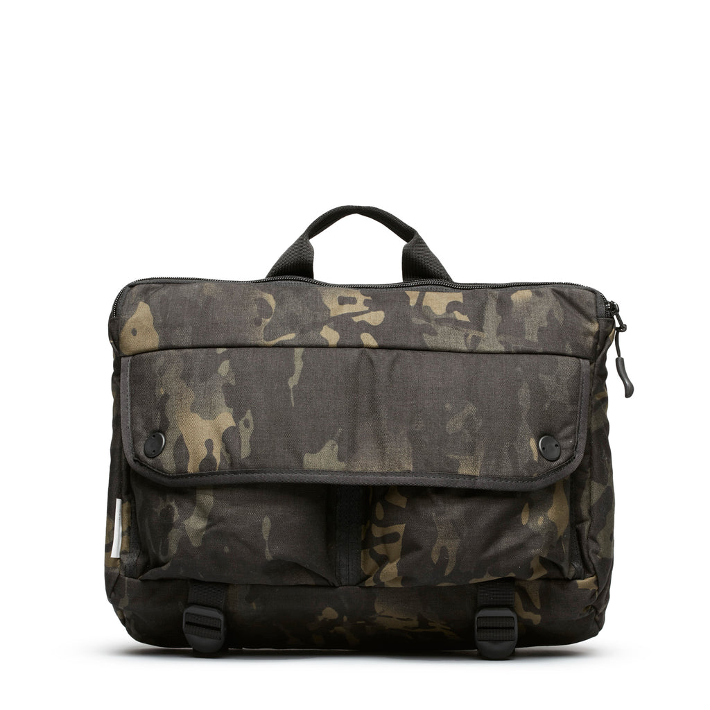 Shoulder Bag - Black Multicam Cordura Nylon