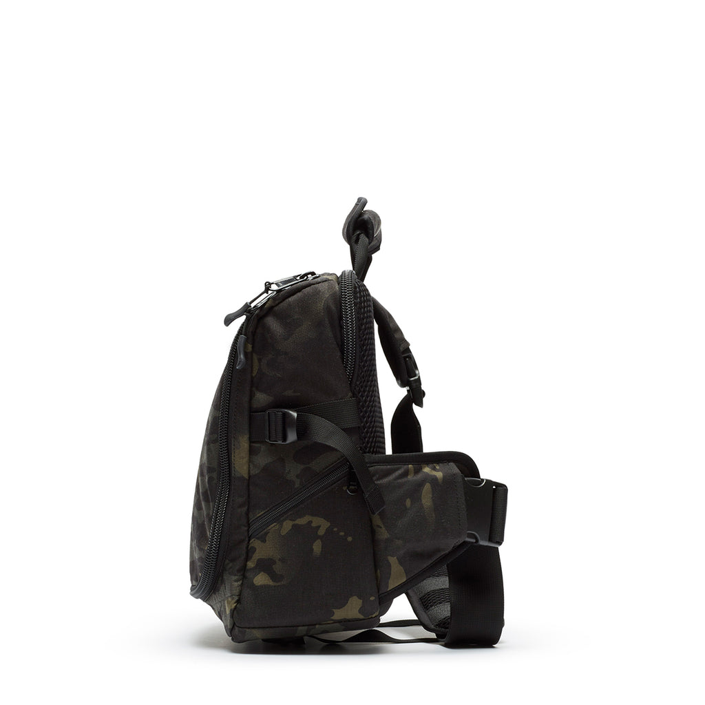 Tech Messenger - Black Multicam Cordura Nylon