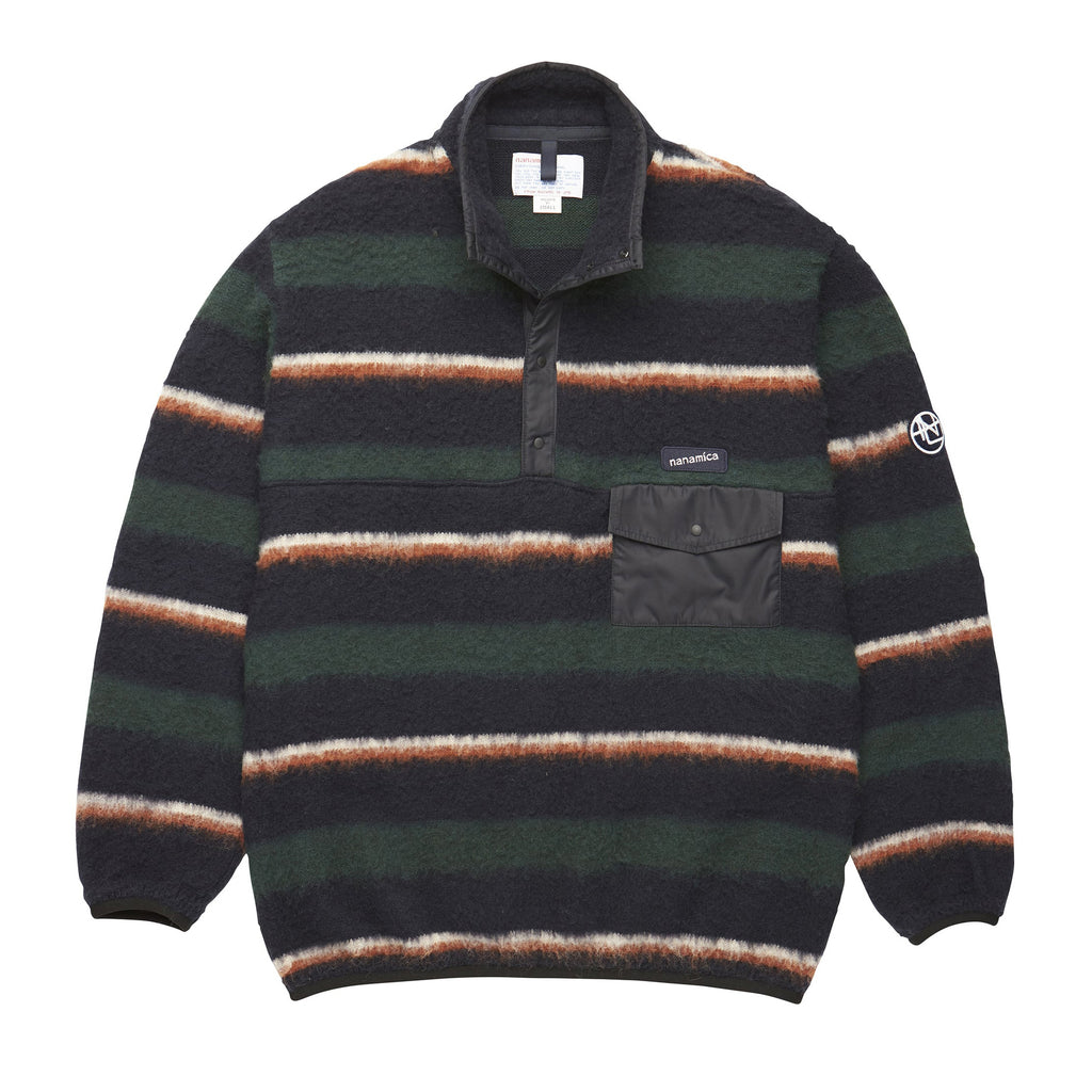Nanamica - Pullover Sweater - Navy/Green