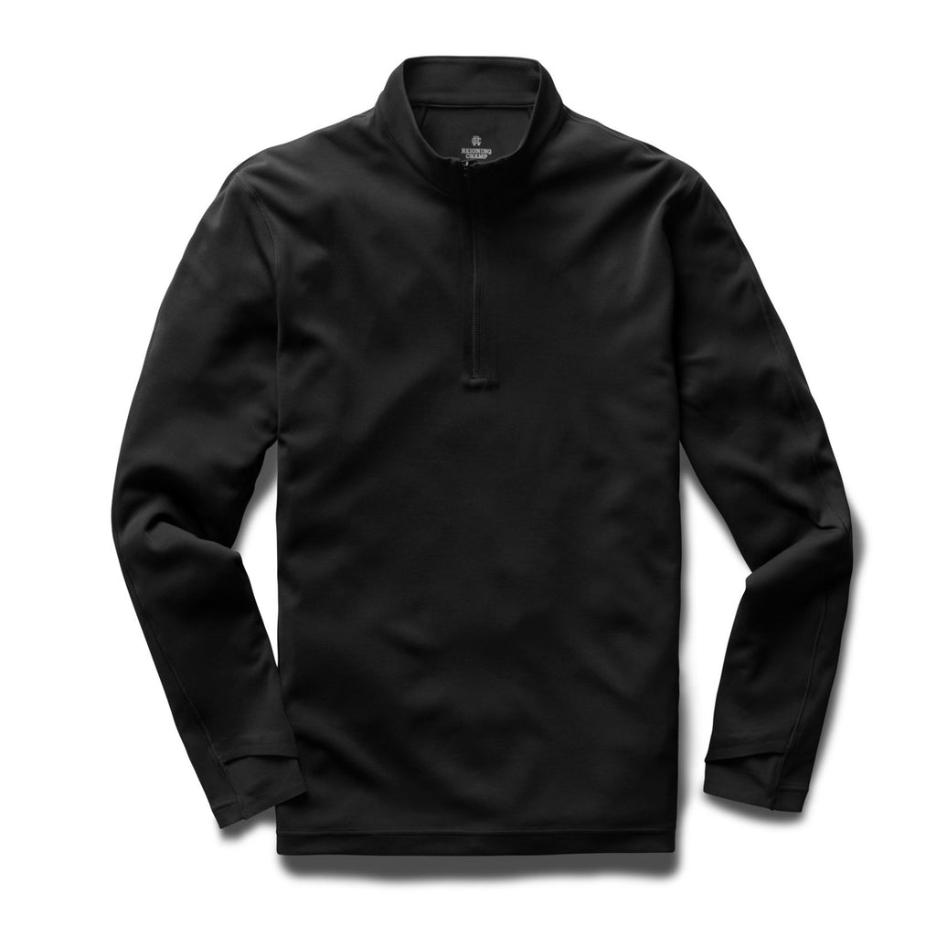Reigning Champ Trail Shirt Deltapeak - Black