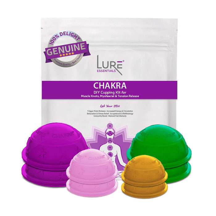 Chakra Cupping Therapy Set (8 cups)