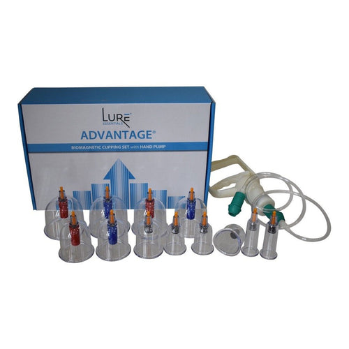 Biomagnetic Cupping Set (12 cups)