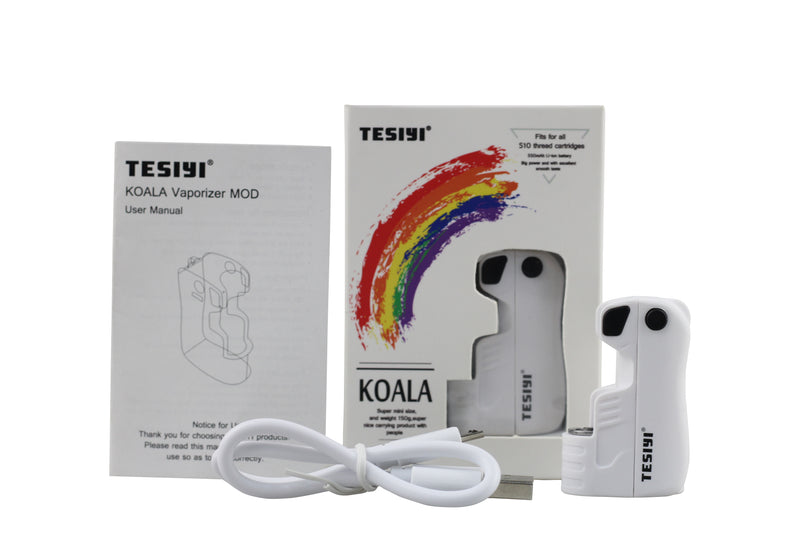 Tesiyi Koala Oil Vaporizer for CBD/THC Cartridge-Tesiyi