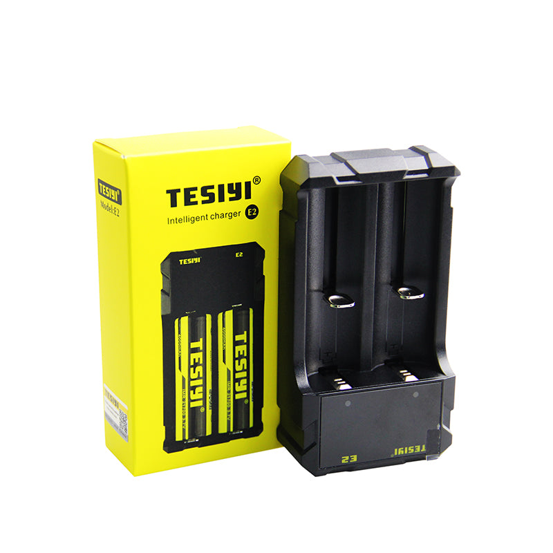 TESIYI E2 Battery Charger TESIYI02 $9.99 18650 charger, Battery Charger, e2 CHARGER, Vaping charger Charger TESIYI