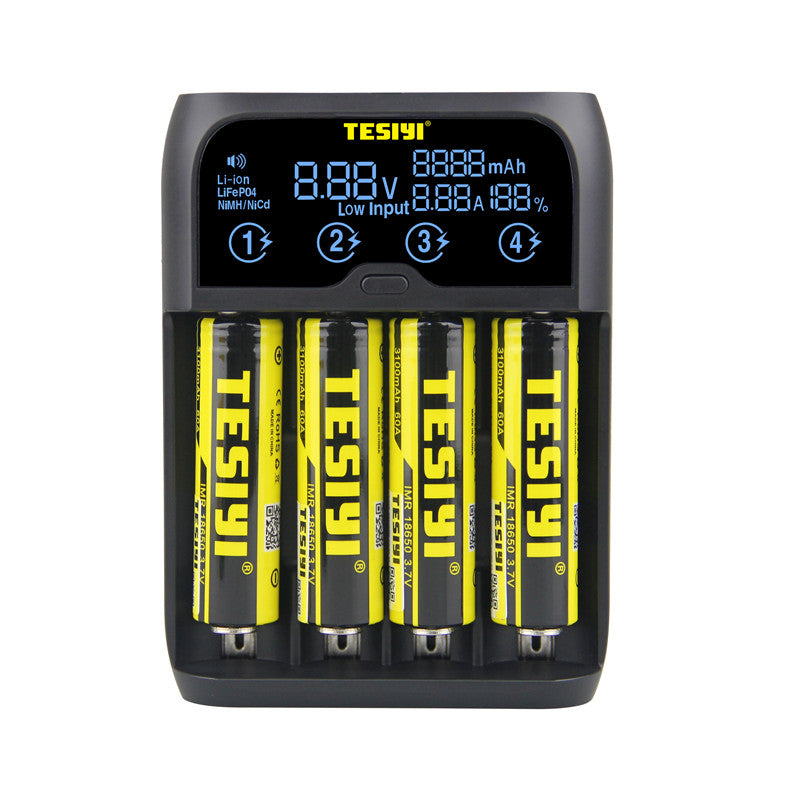 TESIYI S20 Digital Smart Battery Charger