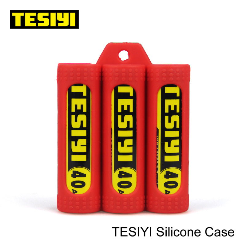 TESIYI Battery SILICONE CASE (3 Batteries) TESIYI18 $1.49 Accessories Accessories TESIYI