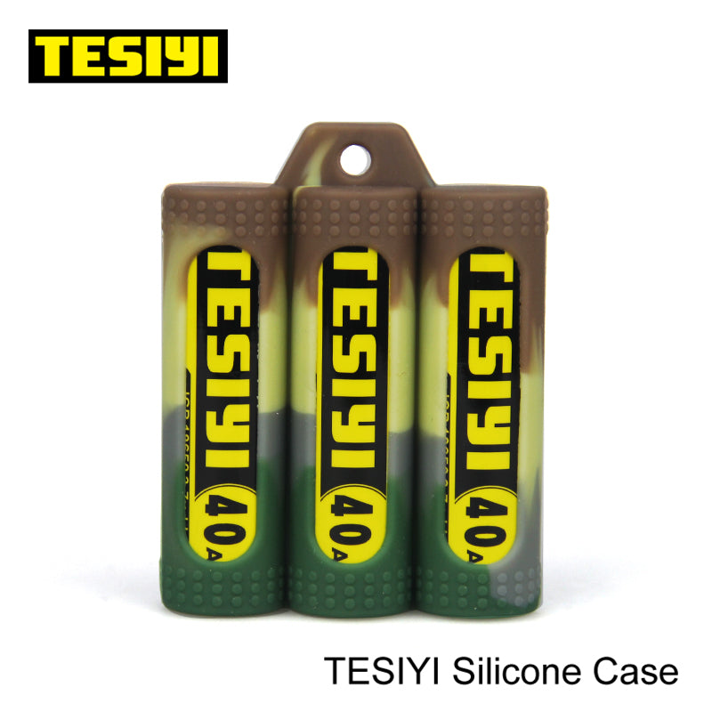 TESIYI Battery SILICONE CASE (3 Batteries) TESIYI19 $1.49 Accessories Accessories TESIYI