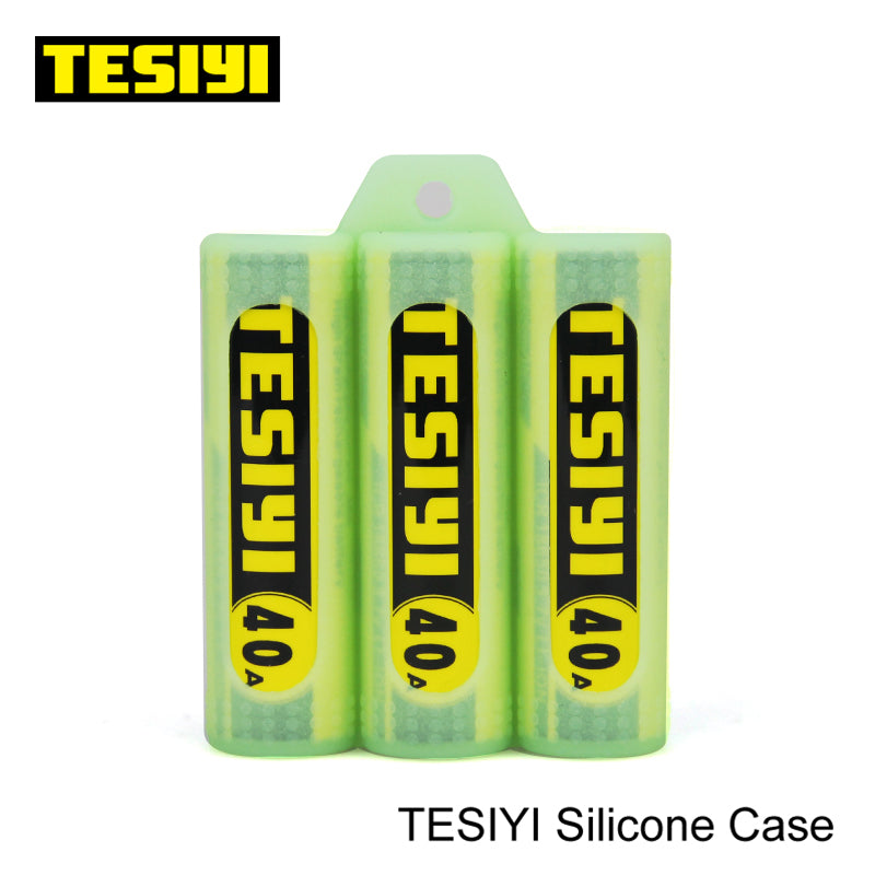 TESIYI Battery SILICONE CASE (3 Batteries) TESIYI17 $1.49 Accessories Accessories TESIYI