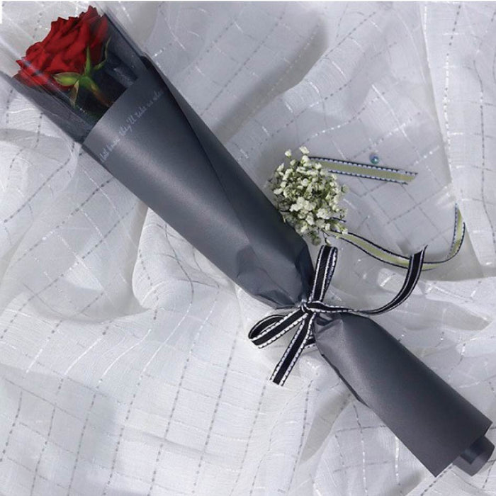 Single Rose Bouquet