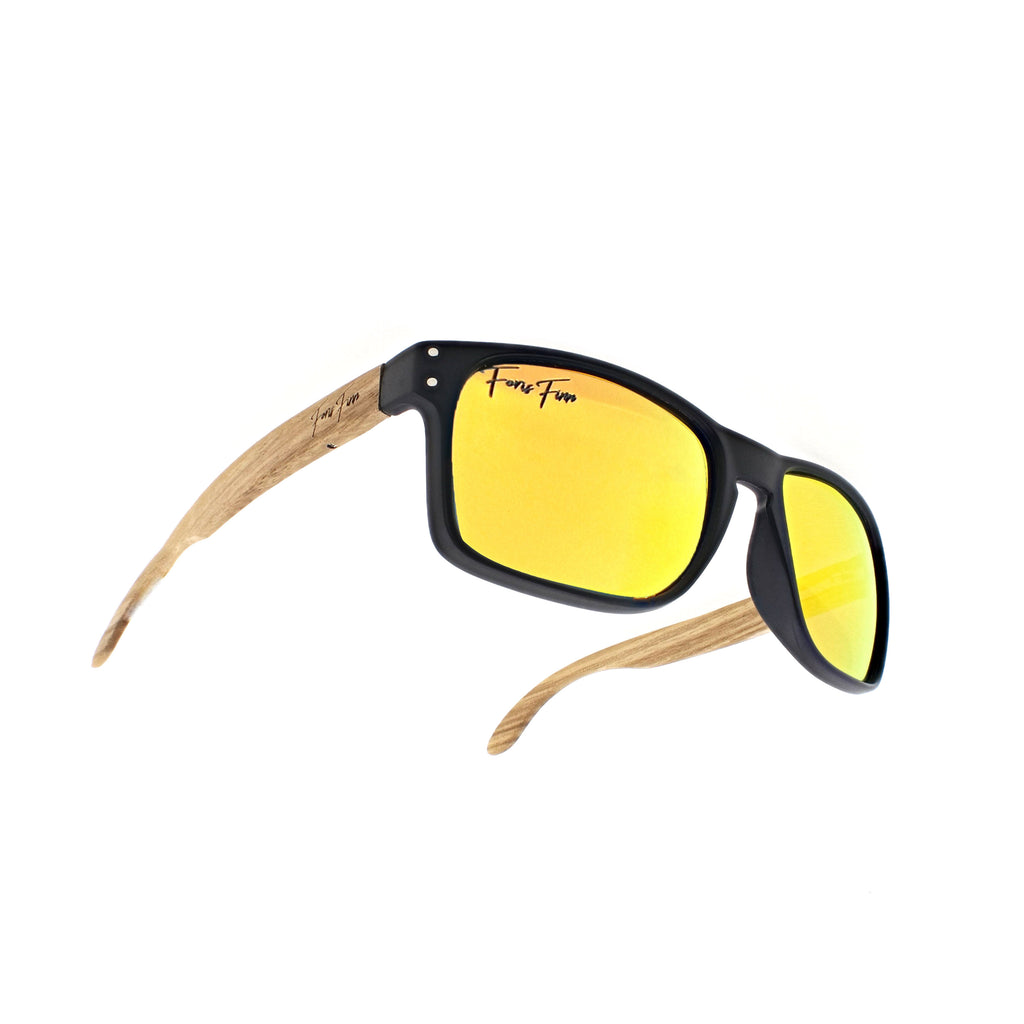 Cape Cod - Zebra Wood Sunglasses