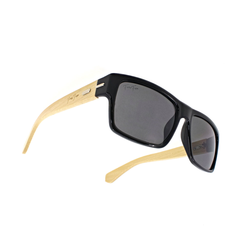 Monterey - Bamboo Wood Sunglasses