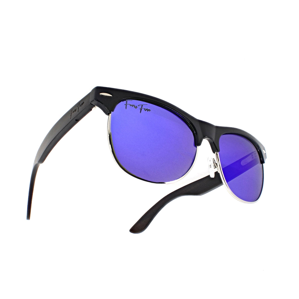 St. Augustine - Ebony Wood Sunglasses