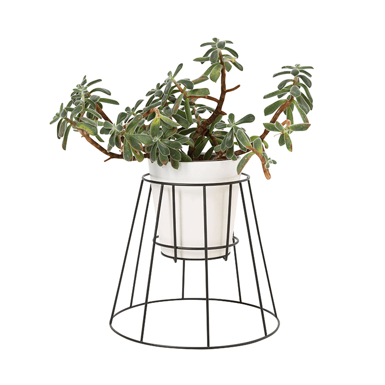 Cibele Plant Stand Black Small - NAVE shop - online concept store