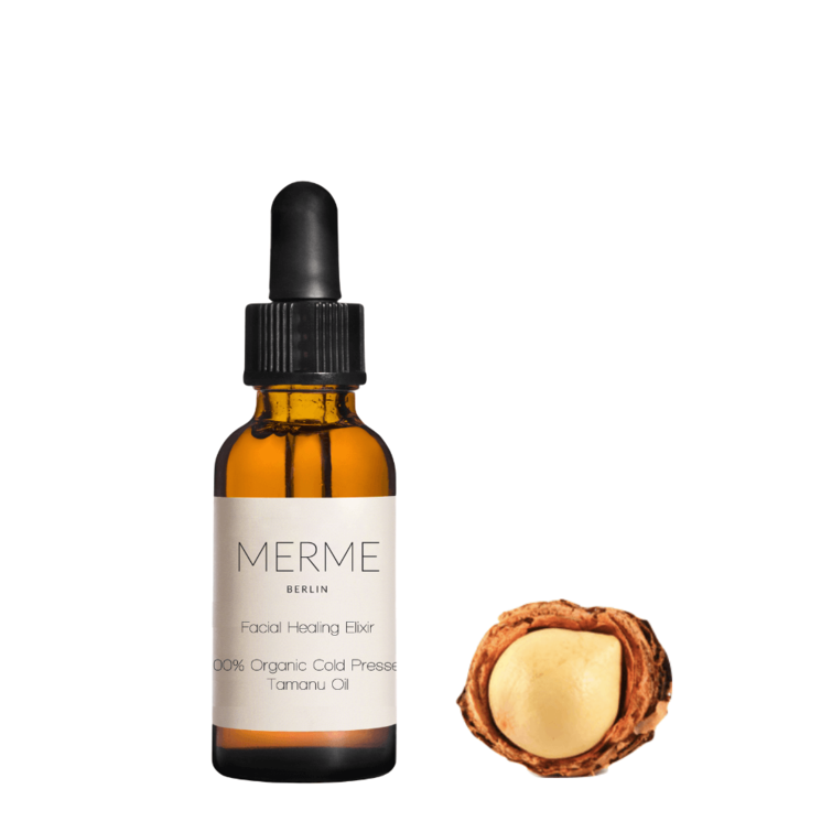 Facial Healing Elixir - Organic Cold Pressed Tamanu Oil; by Merme Berlin, Nave Shop, online concept store