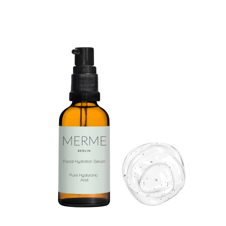 Facial Hydration Serum - Pure Hyaluronic Acid - Merme_ Nave Shop