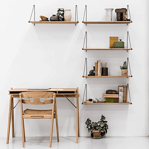 Loop Shelf Natural Bamboo by We Do Wood; Nave Shop - online concept store