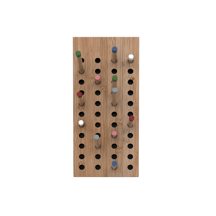 Scoreboard Natural Bamboo Modular Wardrobe Small; We Do Wood - Nave Shop - online concept store