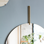 Round and Elegant Wall Mirror, Scandinavian Design by Moebe, Nave Shop, online concept store