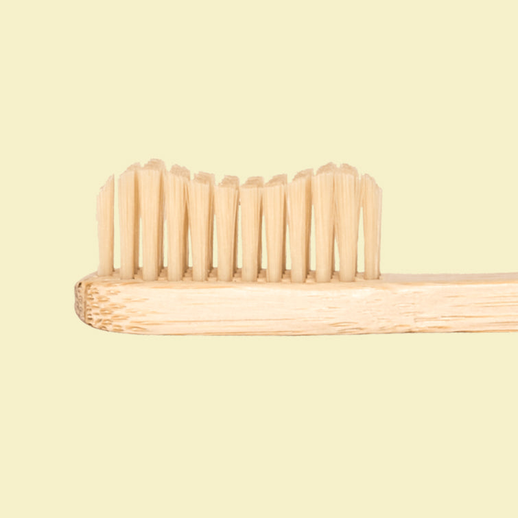 Bamboo Childrens Toothbrush, Nave Shop, Sustainable Alternatives by Bambusliebe