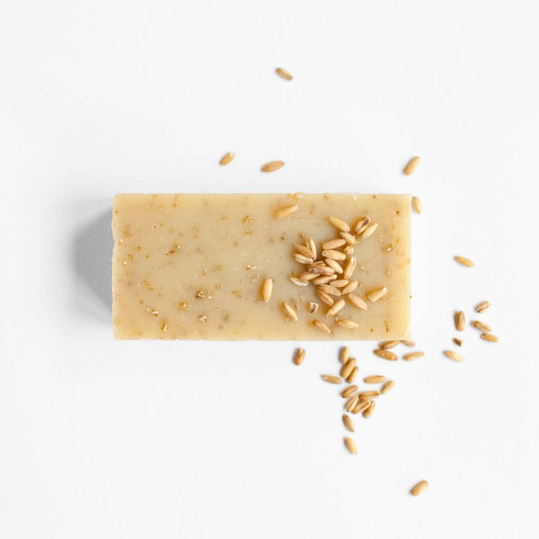 Oat Scrup Bar; plastic-free, palm oil free, handmade and organic soap, Nave Shop, online concept store