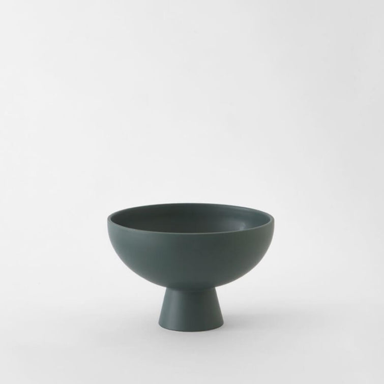 Strøm Bowl Green Gables, Scandinavian Earthenware by Raawii - NAVE Shop - online concept store