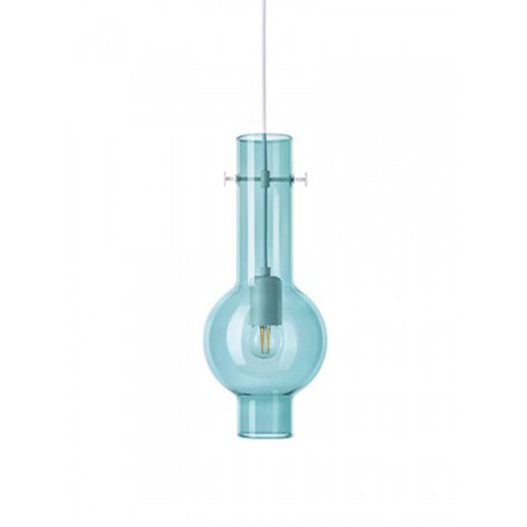 Bulb Lamp Green by Ontwerpduo; glass lampshade, Nave Shop - online concept store