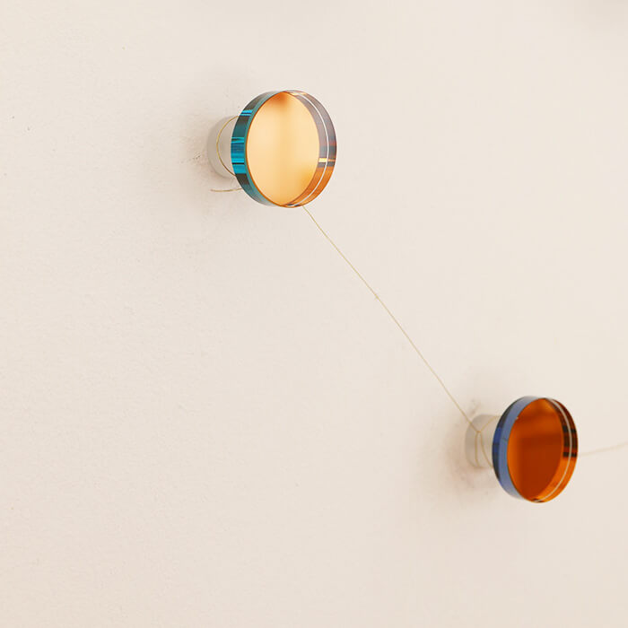 Rainbow Hooks; mirrored wall hooks by fundamental Berlin, Nave Shop, online concept store