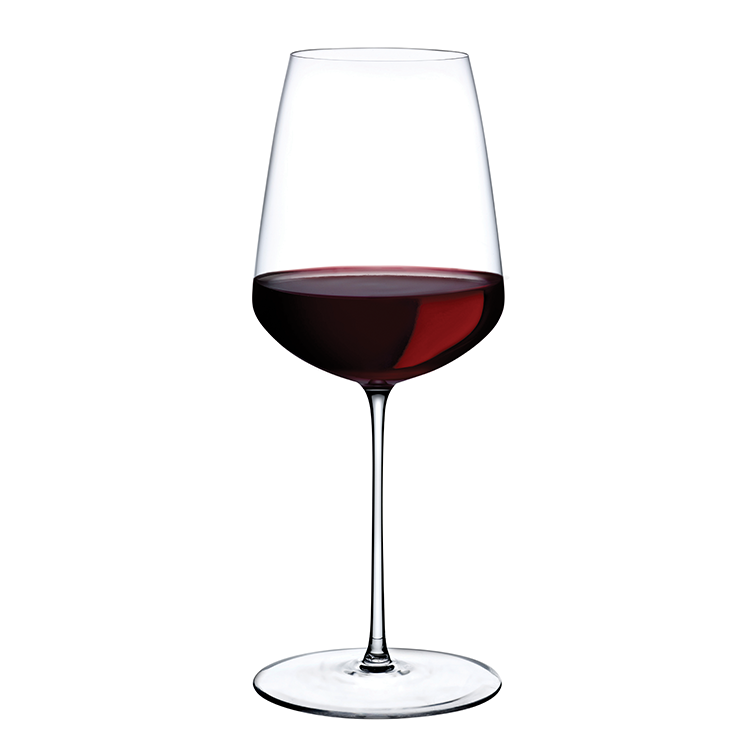 Stem Zero Powerful Red Wine Glass - Nude Crystalline Glassware - NAVE shop - online concept store