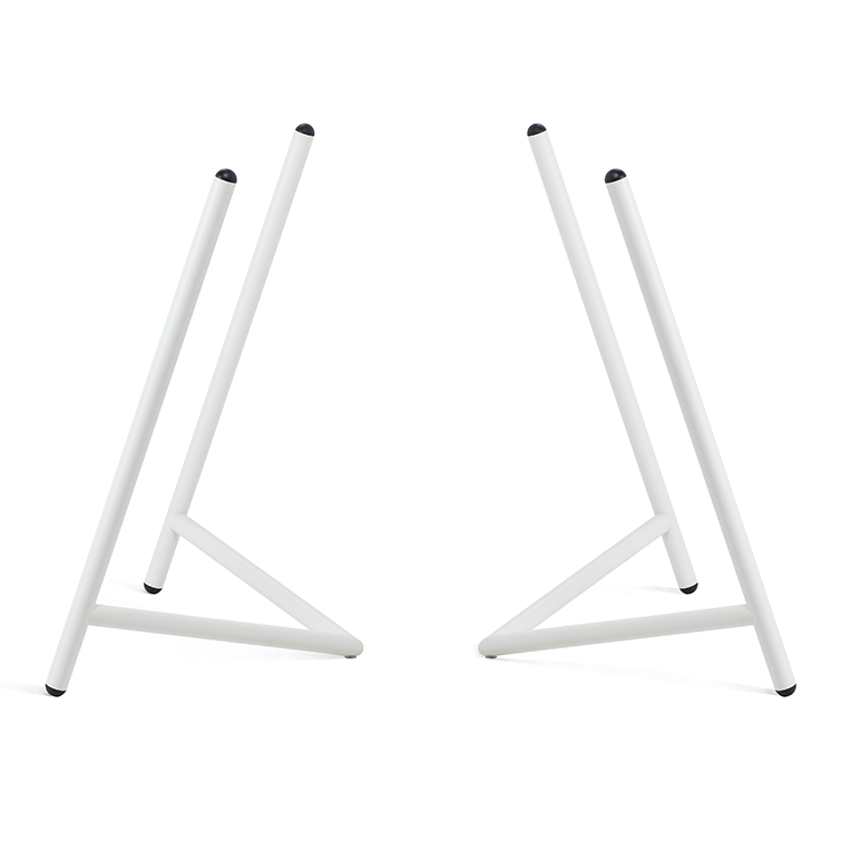 Varius Trestles White_modular table trestles by Rahmlow Design_made in Germany_- NAVE Shop - online concept store