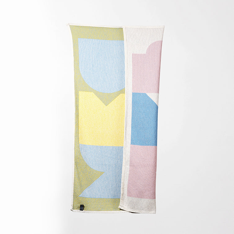 Summer Beach Towel and Blanket by Gabriel Nazoa; designer towel, organic cotton, artist collection, Nave Shop, online concept store