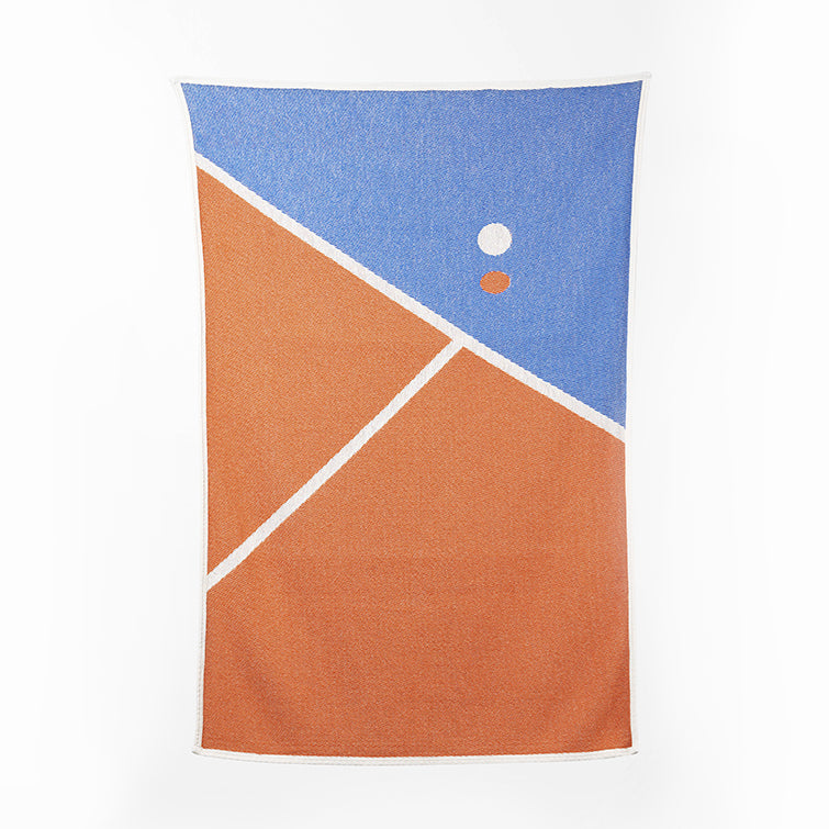 Tennis 1 Beach Towel and Blanket by Gabriel Nazoa; The Nave Shop