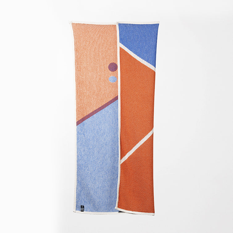 Tennis 1 Beach Towel and Blanket by Gabriel Nazoa; artist towel collection, designer towels, Nave Shop, online concept store