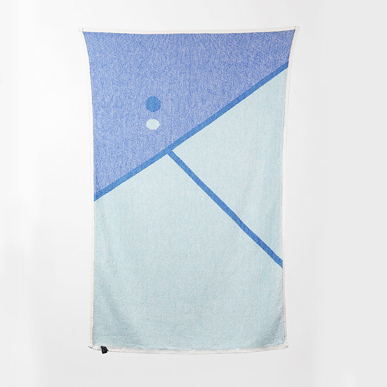 Tennis 2 Beach Towel and Blanket by Gabriel Nazoa; The Nave Shop