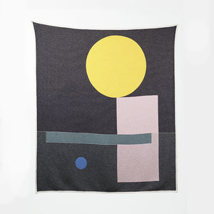 Bauhaused 6 Cotton Blanket by Sophie Probst; The Nave Shop