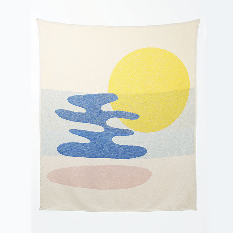 Mainstream Cotton Blankets & Throws by Catherine Lavoie; designer blankets, Nave Shop, online concept store