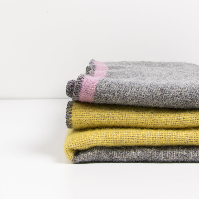 Konstructiv Wool Blanket by Michele; The Nave Shop