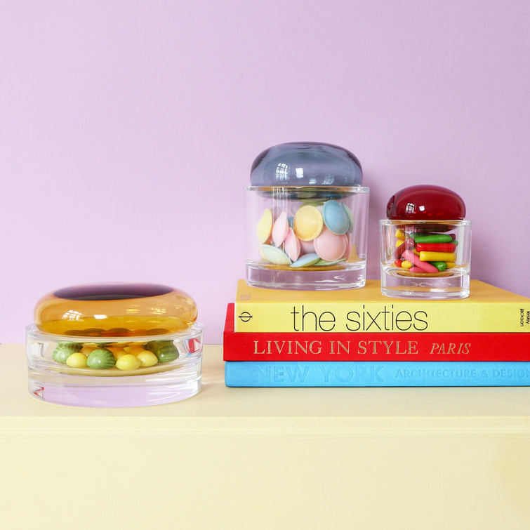 Crystal Glass Container Ecrin Large Glass Box By Sebastian Herkner