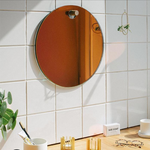 Rainbow Mirror; Wandspiegel mit Regenbogenoptik, wall mirror with a rainbow reflective, by Fundamental Berlin, Nave Shop, online concept store