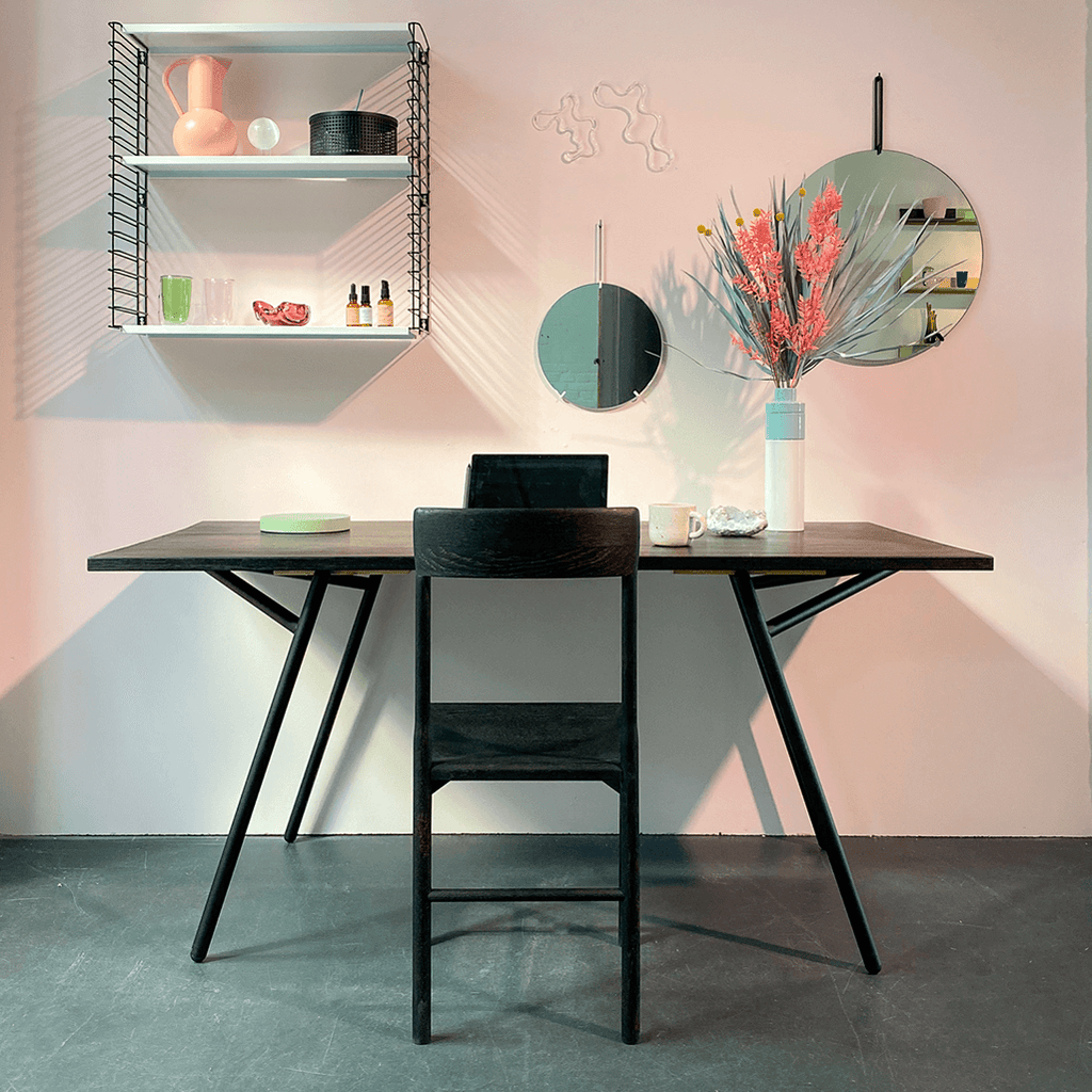 Varius Trestles Black_modular table trestles by Rahmlow Design_made in Germany_- NAVE Shop - online concept store