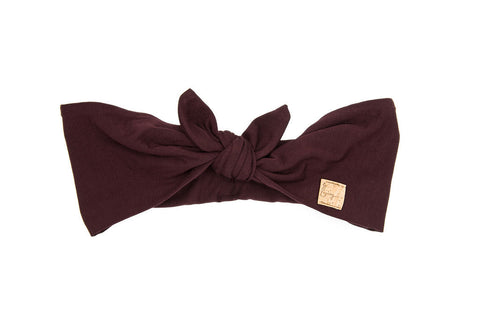 Legacy Bamboo in Wine Tie