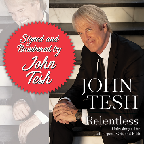 Relentless: Unleashing a Life of Purpose, Grit, and Faith (Hardcover) PRE-ORDER
