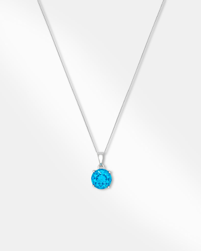 Blue Stone Necklace.