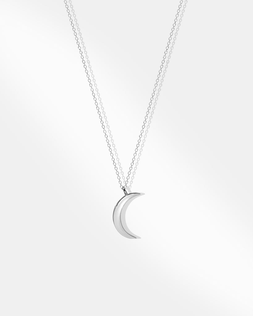 Moon Silver Necklace