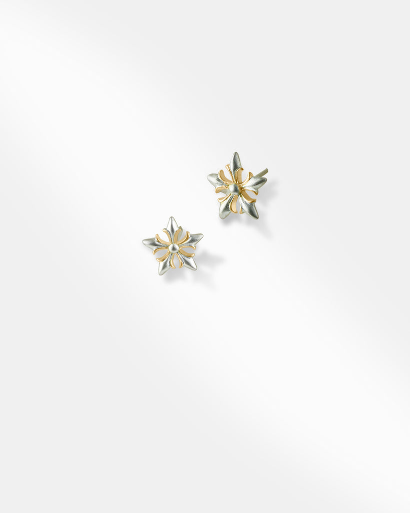 Gilded Flower Earrings