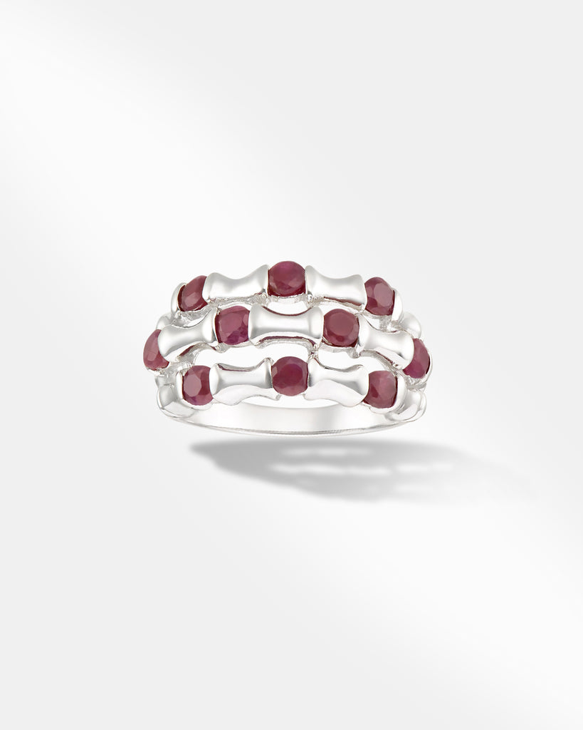 Red Precious Stone Ring