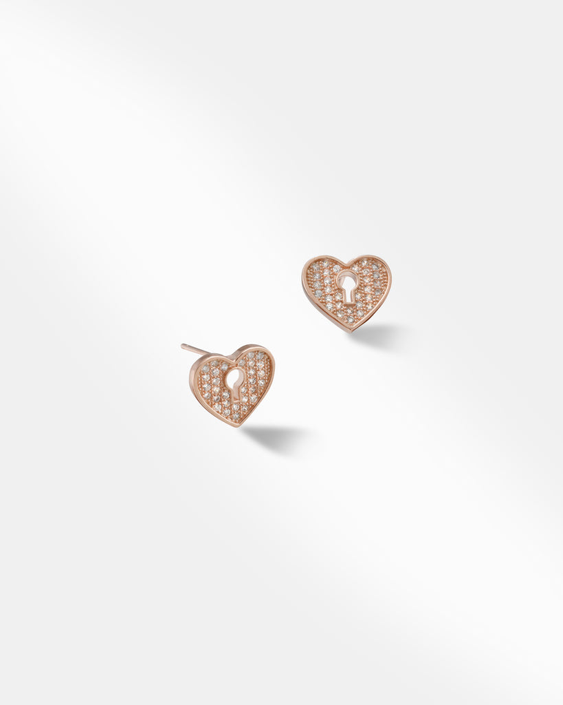 Kindred Heart Stud Earrings