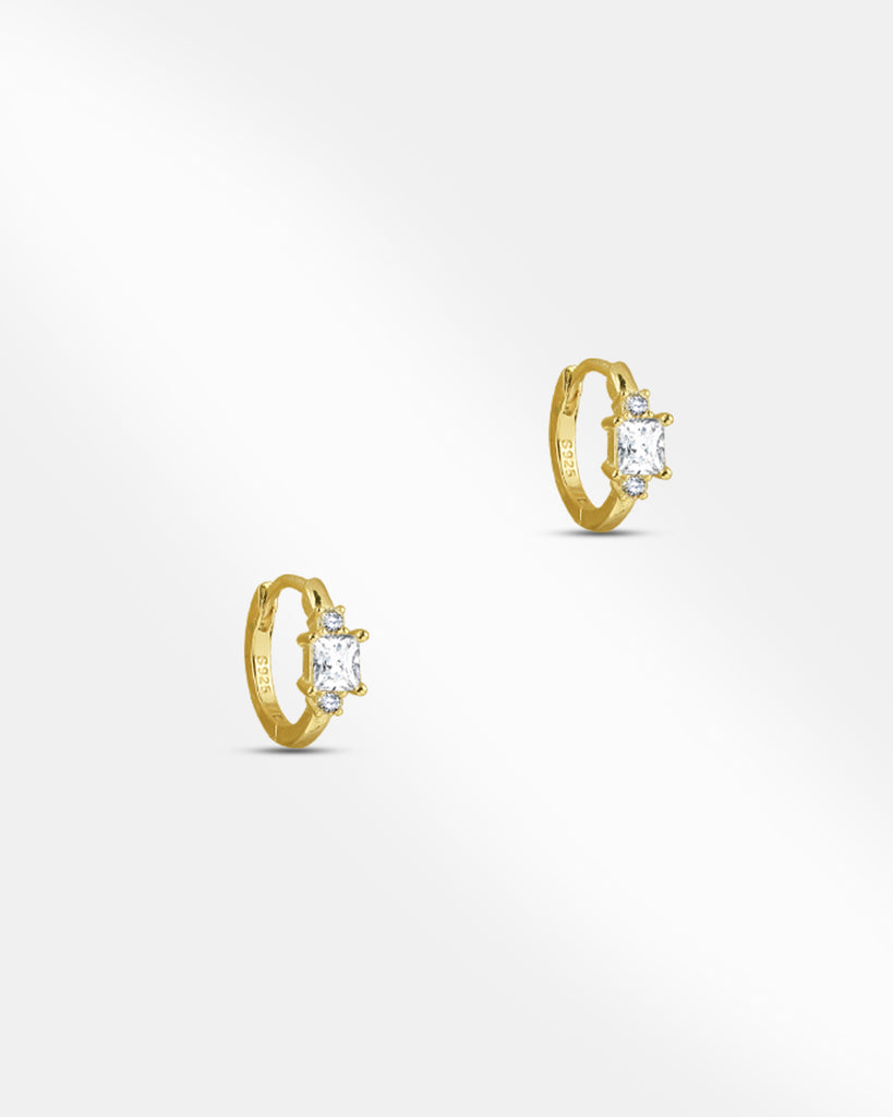 Amy Huggie Hoop Earrings