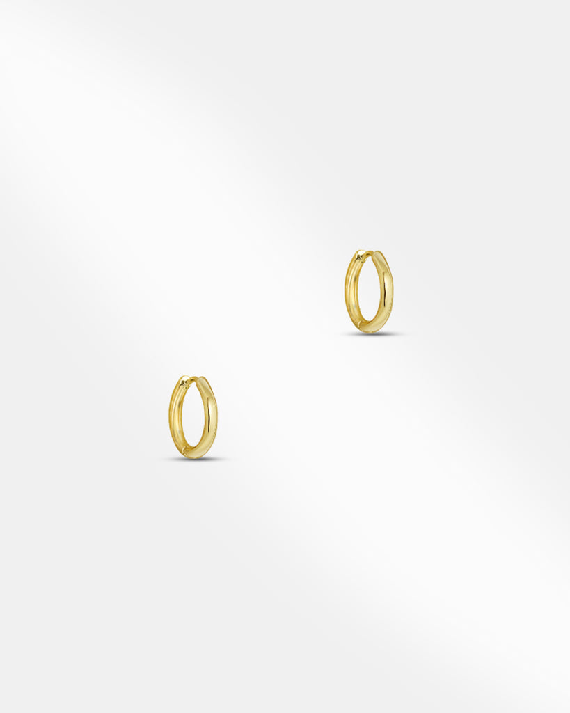 Bella Huggie Hoop Earrings