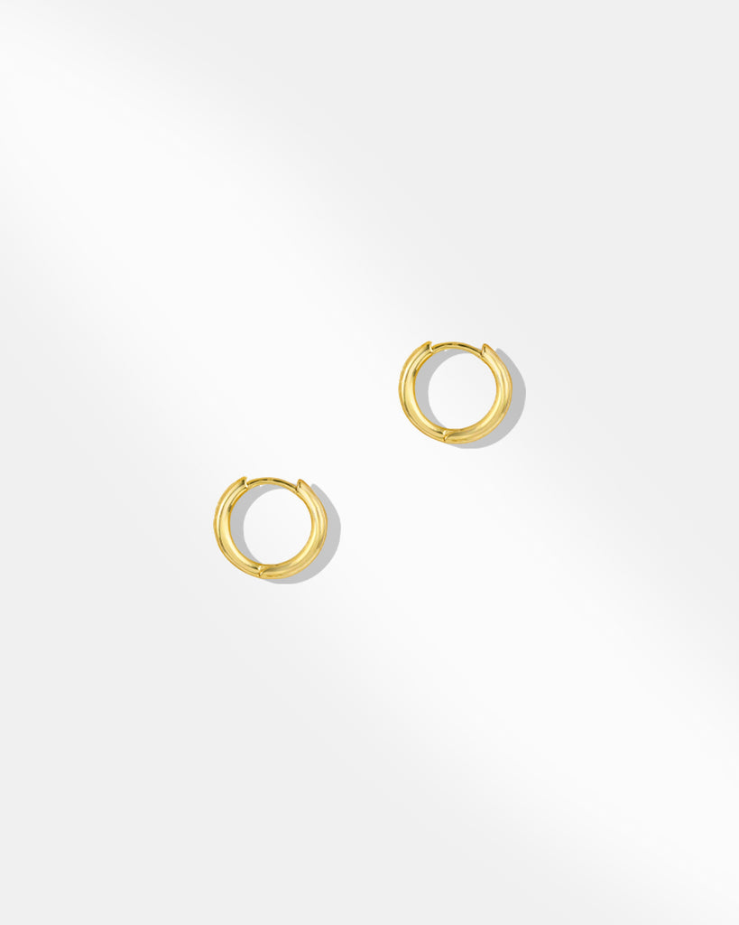 Bella Huggie Hoop Earrings 2